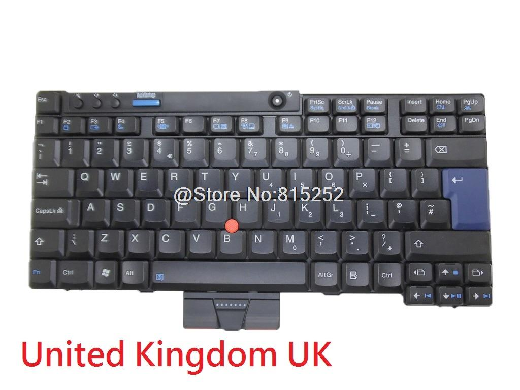 Laptop Keyboard For Lenovo Thinkpad X200 X201 X200S X201I English US United Kingdom UK 42T3704 42T3737 MP 07B83US 442 New Waterproof Weighted