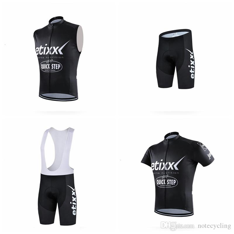QUICK STEP Cycling Short Sleeves Jersey Bib Shorts Sleeveless Vest Sets Best  Selling Bike Ropa Ciclismo Mtb Bike Outdoor Breathable A41729 Vintage  Cycling ... 78f219f1e