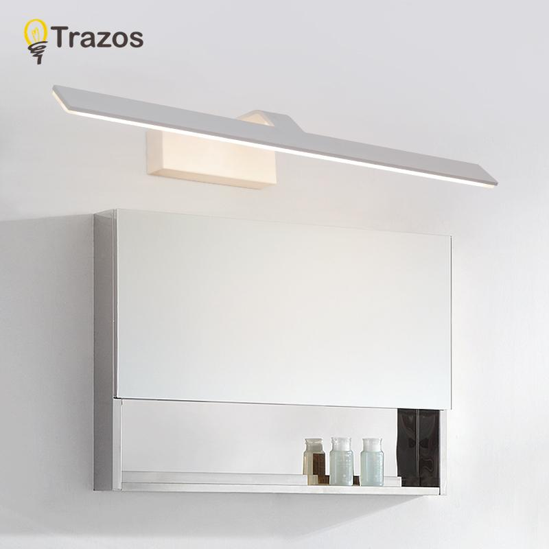 2018 Trazos Simple Mirror Light For Bathroom Led Wall Lamp Aluminum ...