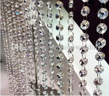 Lámpara de la mesa de centro de la flor de cristal de la boda pieza central para la nueva decoración del evento