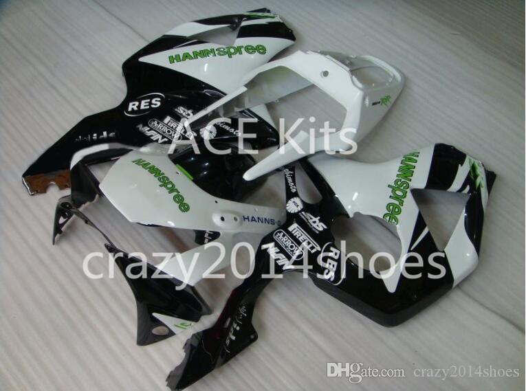 Motorcycle Fairing kit for HONDA CBR900RR 954 02 03 CBR 900RR 2002 2003 CBR900 ABS hot White Black Fairings set+3gifts K10