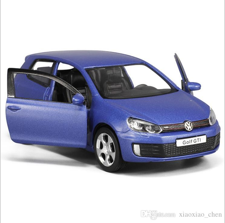 2018 1:36 Scale Alloy Pull Back Car Model Diecast Metal Model Toys High  Simulation Vw Golf Gti 2 Door Can Open Collection Model From Xiaoxiao_chen,  ...