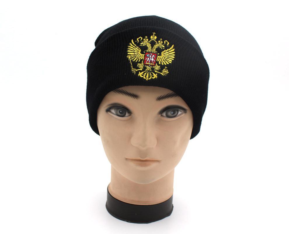 2019 Hor Russia Winter Hat Men Women Warm Russian Emblem Knitted Hats  Skullies Beanies Black Winter Cotton Hat Mask Beanies Knit From Duriang cee2c9aa4b6