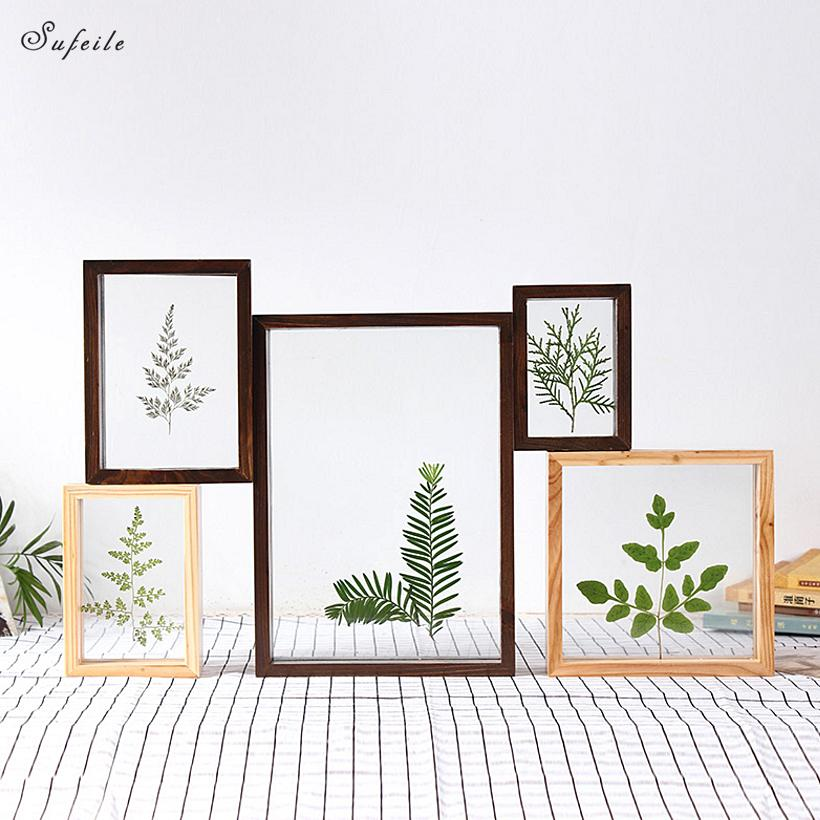 2018 SUFEILE DIY Creative Specimen Photo Frame Home Decor Photo Wall ...