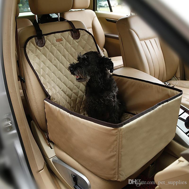 New 900D Nylon Waterproof Dog Bag Pet Car Carrier Dog Car Booster ...