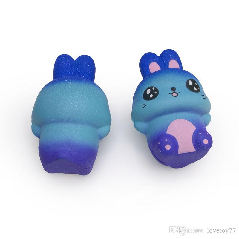 Conigli Star Colour Kawaii Squishy Squishies Giocattoli Jumbo lento aumento animali grande Occhi 15CM coniglio giocattolo di compressione del fumetto regalo