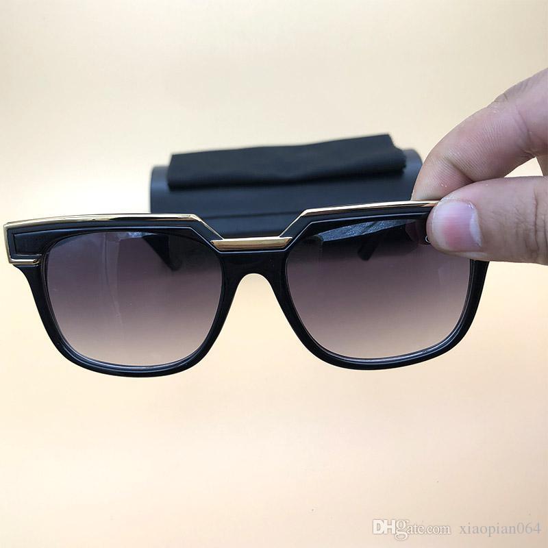Compre Moda Óculos De Sol Eyewear Legends Quadrado Preto Quadro Lentes  Claras Óculos Alemanha Óculos Retro Quadrado Quadro Com Caixa Preta 1617 De  ... 1ad04b951f