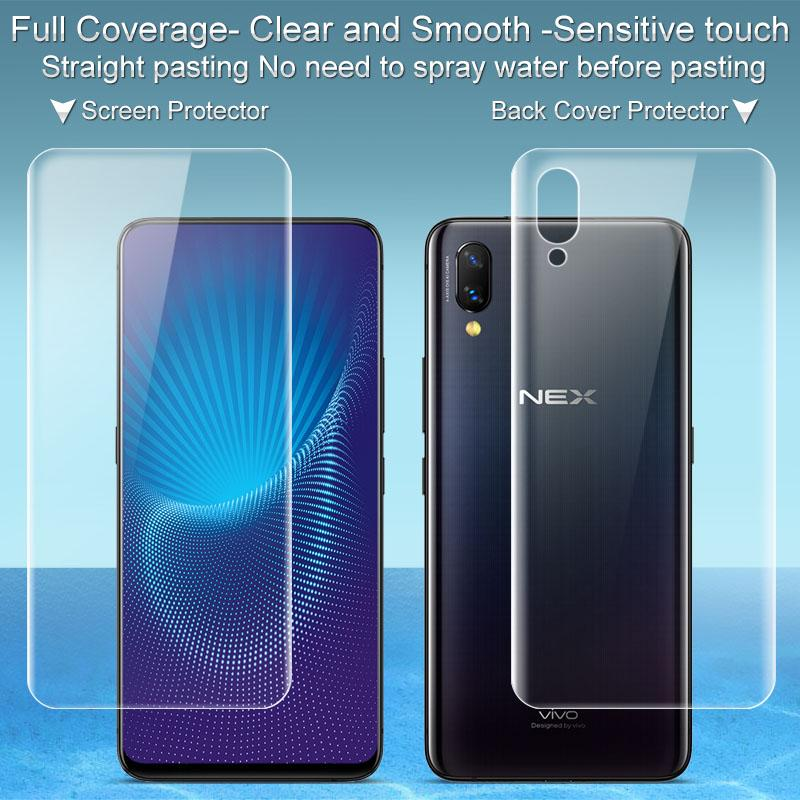 Vivo Nex Flagship Screen Protector Imak 3d Full Cover Front Back