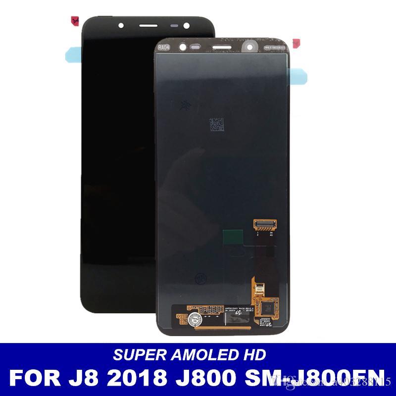 28a7aab17 Compre Para Samsung Galaxy J8 2018 J800 Sm J800fn Telefone Amool Lcds  Display Com Tela De Toque Digitador Assembléia Completa Substituição Lcd De  A403288115 ...
