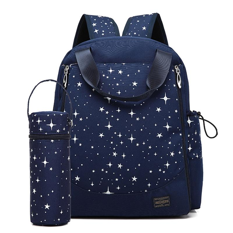 084e4197b759d Diaper Bag Waterproof Mummy Maternity Travel Backpack Nappy Changing ...