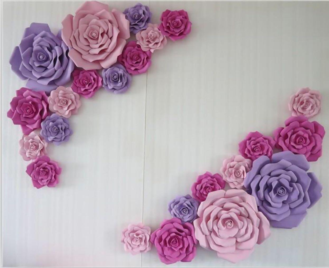 Wedding Suppliers Artificial Handmade Giant Foam Paper Rose For