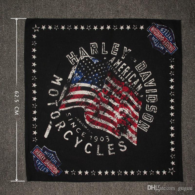 Acheter Hip Pop Bandeau Hommes Drapeau Américain Individualité Rue Danse  Cool Tête Écharpe Unisexe Moto Harley Métal Lourd Visage Écharpes Carrées  Jeunesse ... d90e109b4b8
