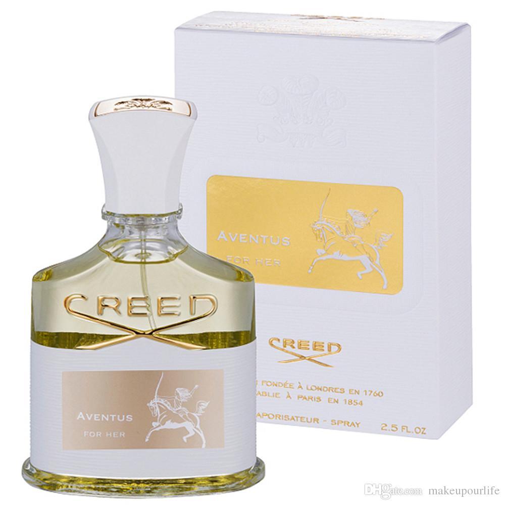 Top Quality 75ml Creed Aventus Eau De Perfume For Women