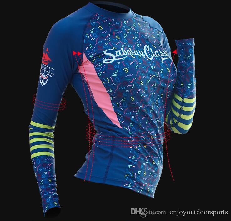 2018 Nouvelle Arrivée Combinaison Femmes Maillot De Bain À Manches Longues Scuba Diving Suit Snorkeling Rash Guard Combinaisons pour la Natation Surf Sports Vêtements