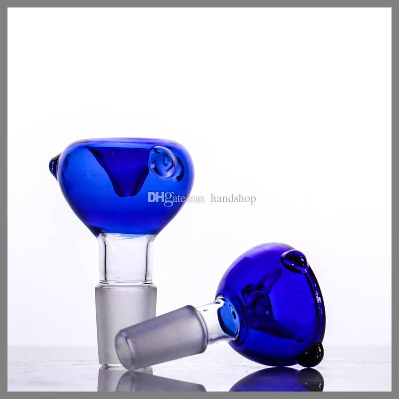 Другие аксессуары для курения Новое Прибытие Стеклянная Чаша для Фабрики Оптовая Дизайн Красочные 18,8 мм / 14 мм Forglass Водопроводная труба Используйте масляную установку