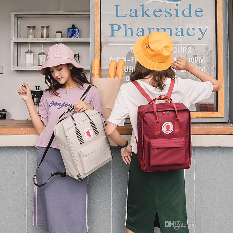 2018 Hot Sale Style Bookbags Womens Backpack Travel Bags Student School Bag  Girl Backpacks Casual Travel Rucksack Travel Bags School Bag Backpacks  Casual ... 0640e25be52af