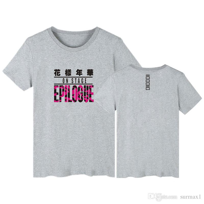 BTS Bangtan Boys Fan Club Paar T-shirt Größe 2XS-4XL Druck Kurzarm Top Große Größe Kleidung