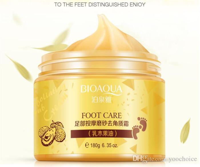 BIOAQUA Foot Care Cream Exfoliating Feet Mask Peel Dead Skin Callus Remover 180g Baby Foot Skin Smooth Care Cream