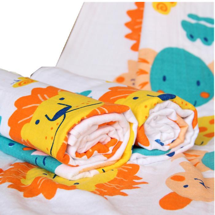 2018 Double Hive Cartoon Baby Bath Towel Men And Women Baby Increase ...
