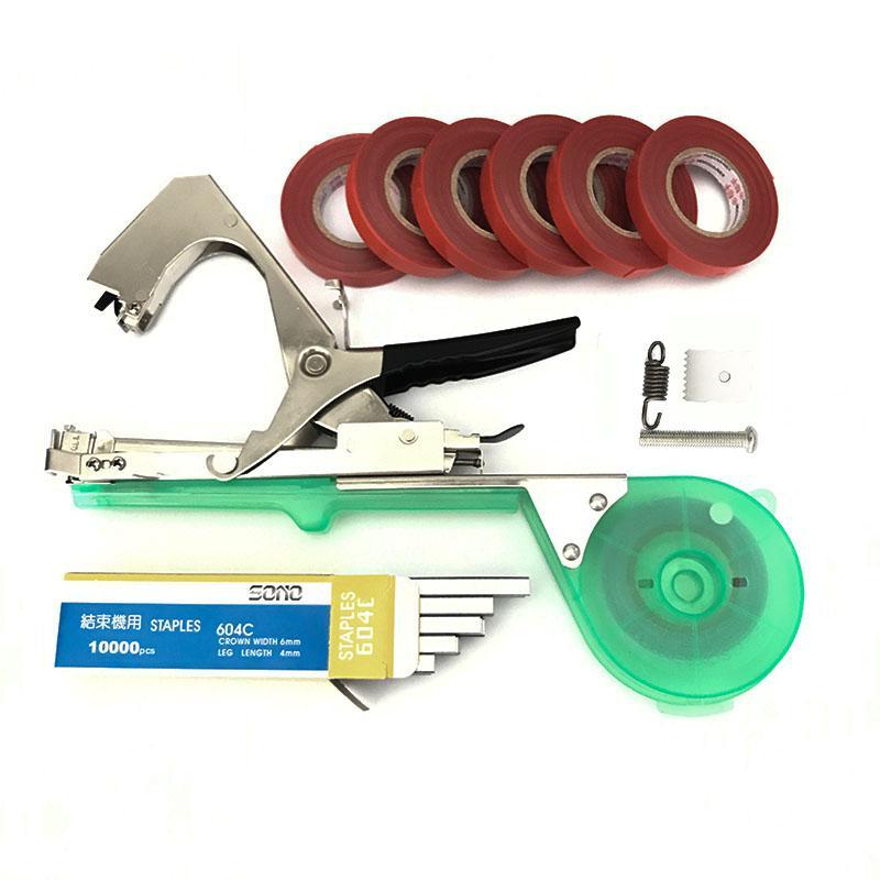 . Top Gardening Tools Set Multifunctional Fruit tape Machine garden tools  Plant Tying Tapetool Tapener Packing Vegetable s stem