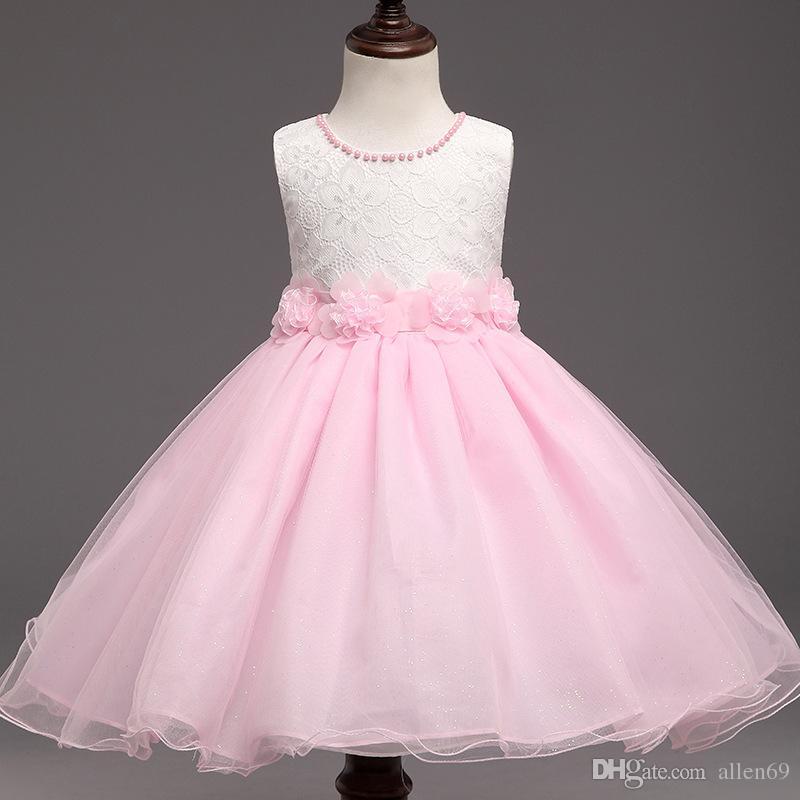 2018 New 2018 Hot Sale Summer Dresses For Girl Sleeveless Flower ...