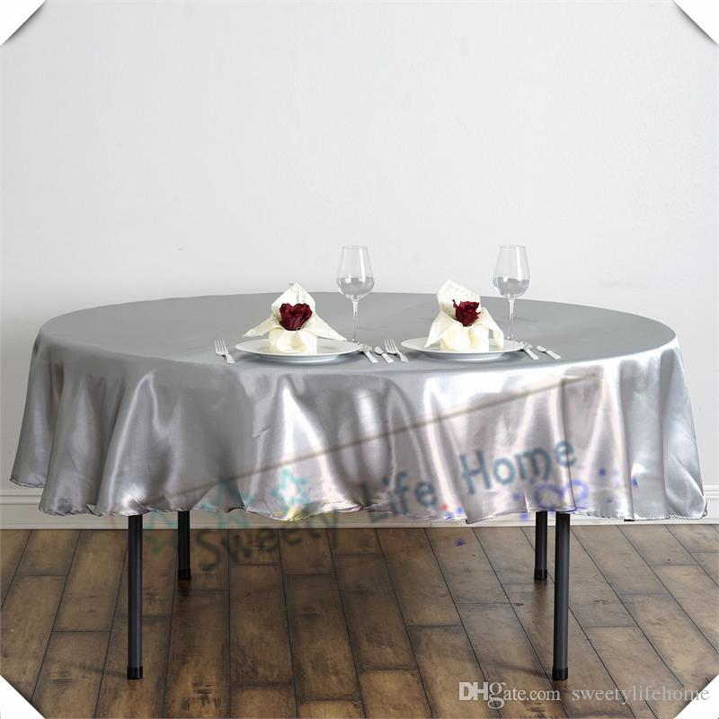 Tablecloth Round Vinyl Round Table Ideas