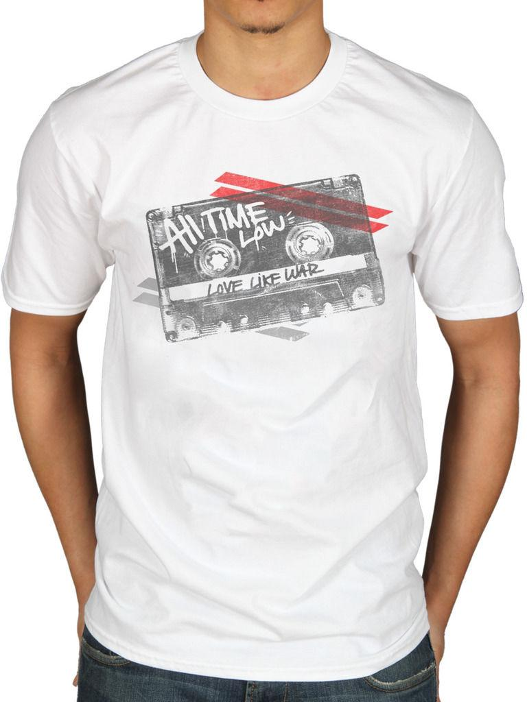 Official All Time Low Mixtape T-Shirt Future Hearts Don't Panic ATL Music  Album