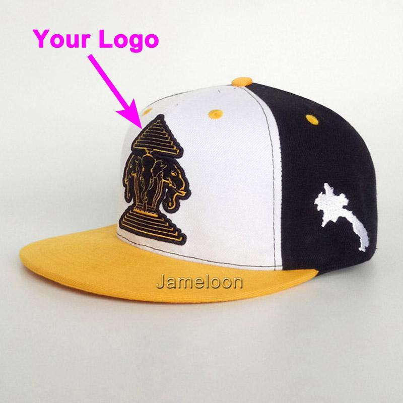 Snapback yakın 3D baskılı açık kap özel yapıt futbol tenis spor beyzbol hip-hop şapkalar özel şapka