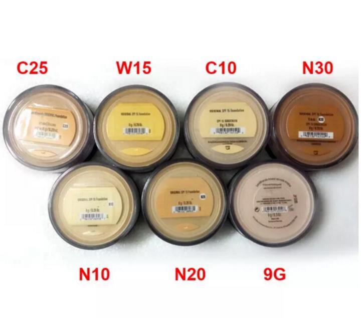 حار بيع 8 جرام المعادن مؤسسة متوسطة / الضوء / عادل / تان / الضوء إلى حد ما / متوسطة البيج / فيل المعدنية / السفينة مجانية