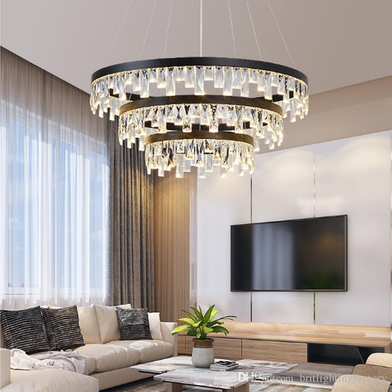 Grosshandel Nordic Crystal Kronleuchter Licht Esszimmer Fuhrte