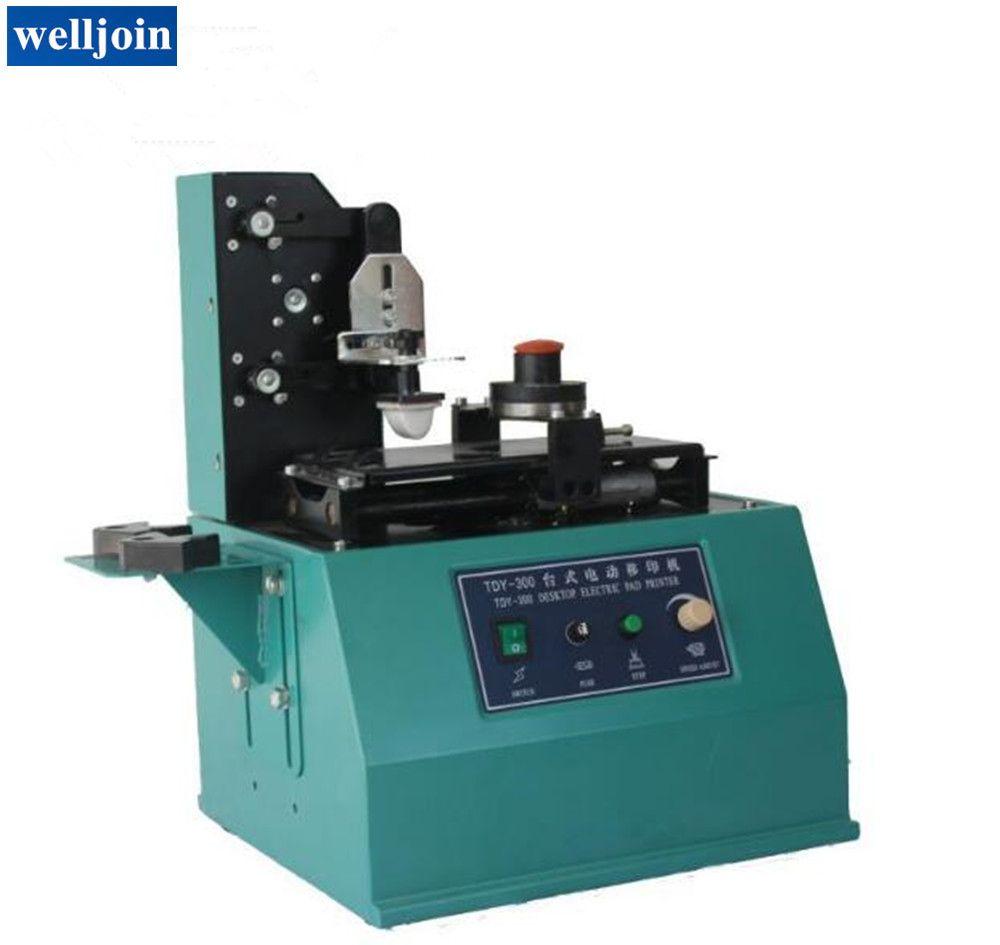 Electric Pad Printing Machine Customizing the Content Plate Irregularly  Printing