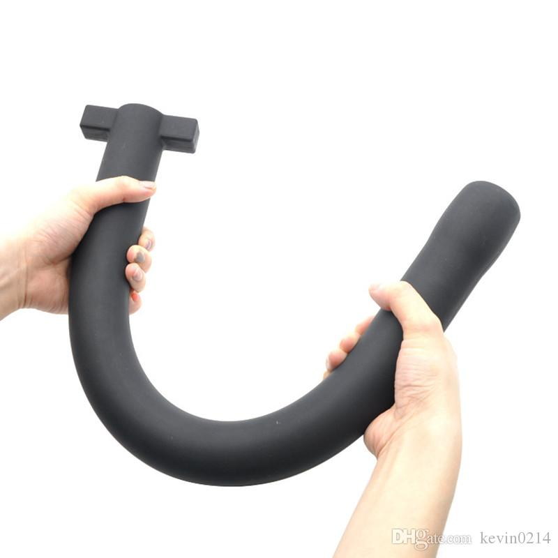 Adult Anal Toy Silicone Anal Plug Strong Pull Realistic Anal Trainer Masturbation Butt Plug Toys Woman & Men H8-2-64