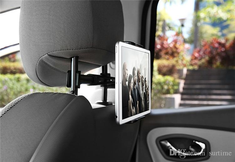 Premium Back Seat Car Phone Holder 4-11.5inch Extendable Car Phone Holder Tablet Mobile Rotatable Car Headrest Stand Bracket