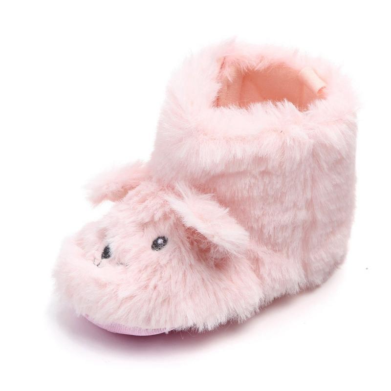 Stiefel Gut Neugeborenen Winter Warme Baby Stiefel Jungen Mädchen Weiche Sohle Stiefel Kleinkind Prinzessin Bowknot Krippe Plüsch Schuhe Mit Ball Mutter & Kinder