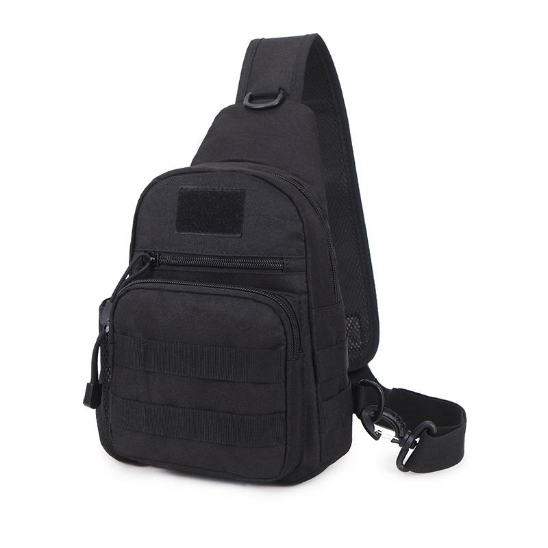 2018 single shoulder backpack water proof bag nylon solfback shoulder bag outdoor sport unisex Shoulder small chest bag 6.5 C18111901