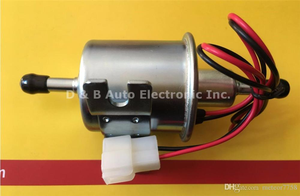 Brand New 12V Universal Electric Fuel Pumps HEP-02A 110-120L/H Suitable for Carburetor Motorcycle ATV