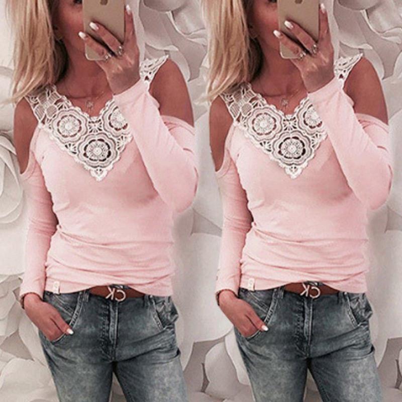 94914371034144 2019 2018 Women Blouses Summer Lace Chiffon Blouse Casual Blusa Feminina  Tops Fashion Chemise Femme Shirts Plus Size S XL From Liasheng05, $27.61    DHgate.