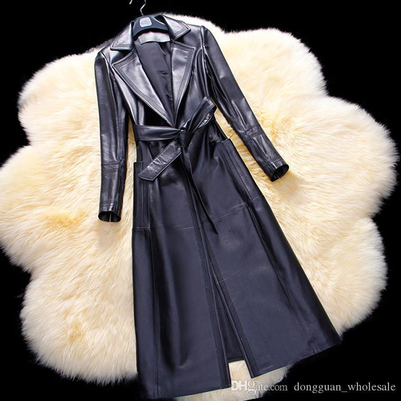 Mantel aus schaffell