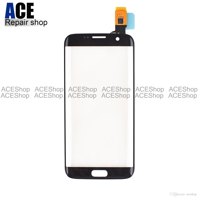 Pc Touchscreen Ace Ursprüngliches Vorderes Glas Touch Screen Digitizer Ersatzteil Für Samsung Galaxie S7 Rand G935 G935a G935f Geben Dhl Frei Touchscreen