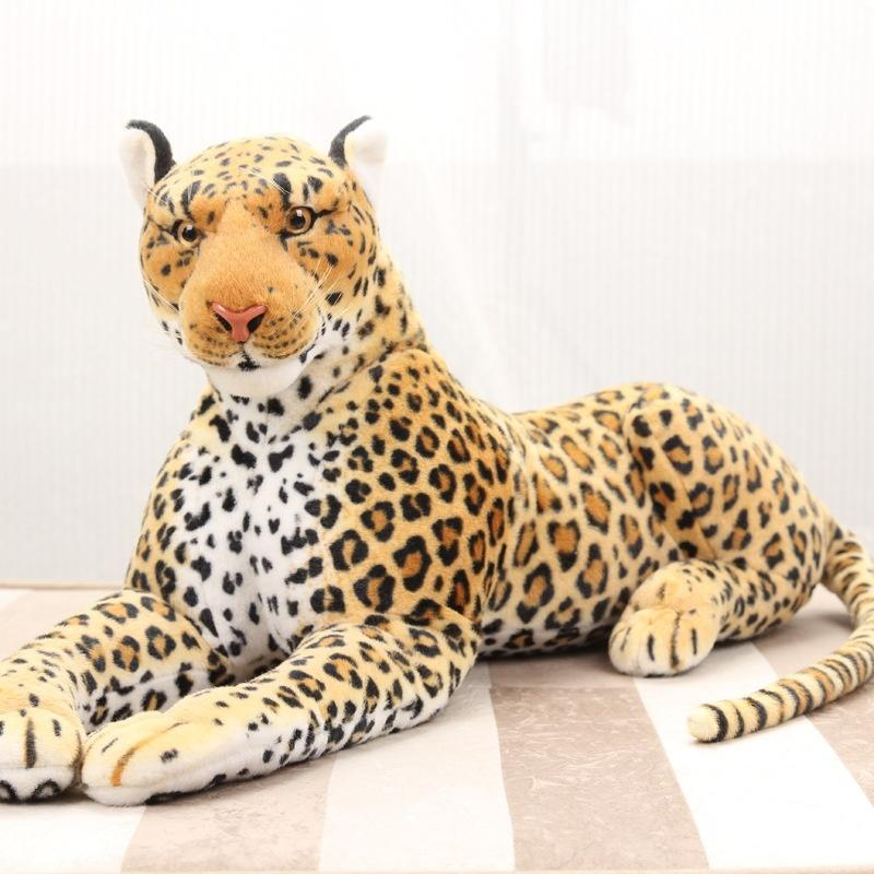 763f704a55ce Simulation Animal Plush Toy Leopard Leopard Doll Tiger Doll Photography  Props Simulation Leopard Puppet Resources Baby Hand Puppet From Max4072, ...