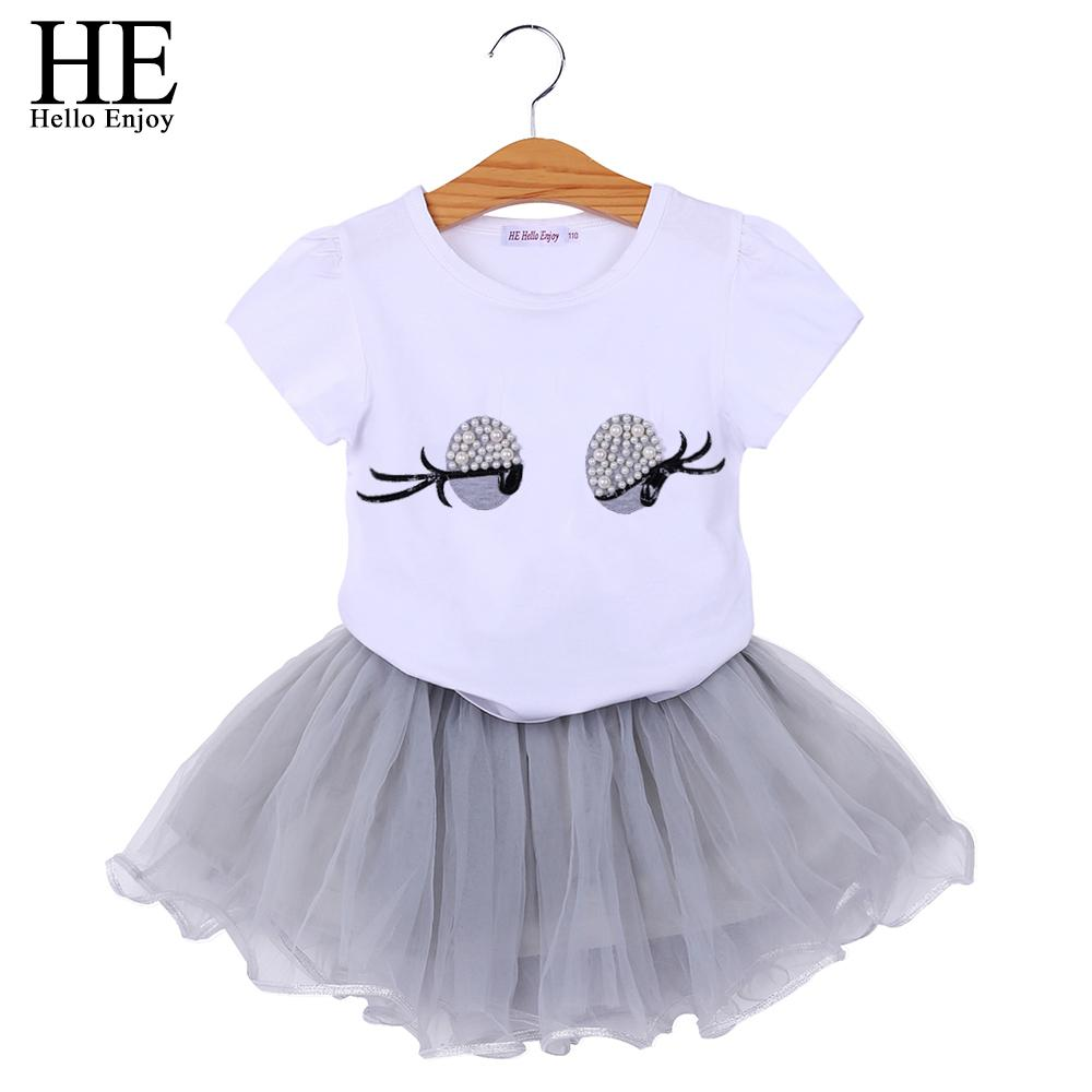 unicorn costume for girl tracksuits toddler boutique outfit set summer t-shirt+Tutu skirt suit kids clothes children clothing