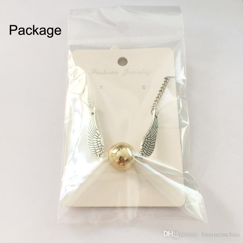 AFSHOR Moda Harry Quidditch Golden Snitch pulseras para mujeres y hombres Potter alas de bolas lindas pulseras de cadena bonitos regalos AF006