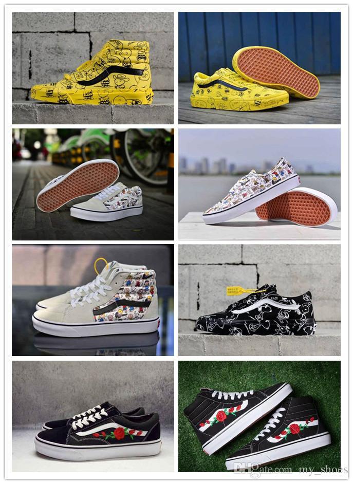 Old Bóveda Brand De X Hombres Zapatos Skool Hi Deportes Diseño Cacahuetes Deportivas Sk8 Para Ans Hombre 2018 Zapatillas xoBdCeWr