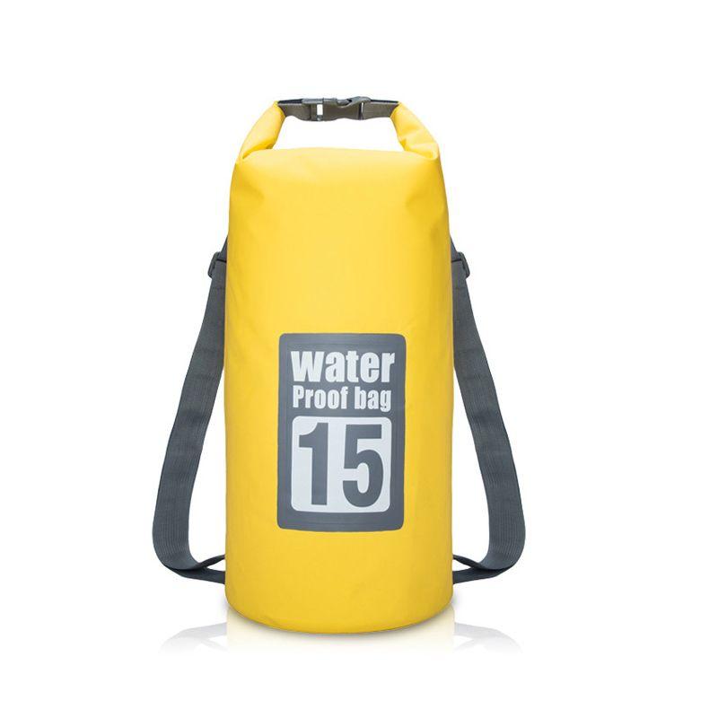 7beec102beb 2018 Outdoor Portable Rafting Dry Bag Sack Swimming Waterproof Storage  River Trekking Bags For Canoe Rafting Upstream 5l 10l 15l 20l From  Lvmangguo