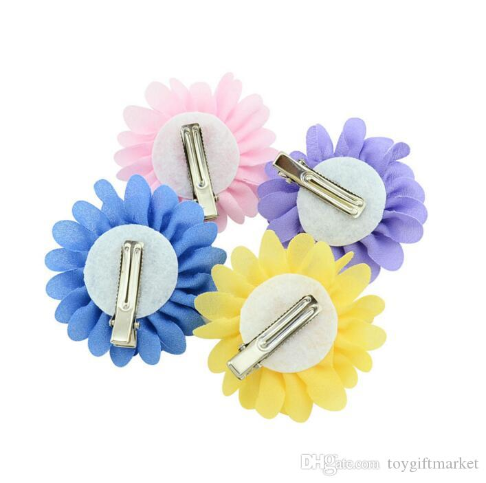 2018 New Flower Hairpin Beautiful Hairpin Child Cute Hair Accessories Girl Cute Hairpin Girl Great Quality and Best
