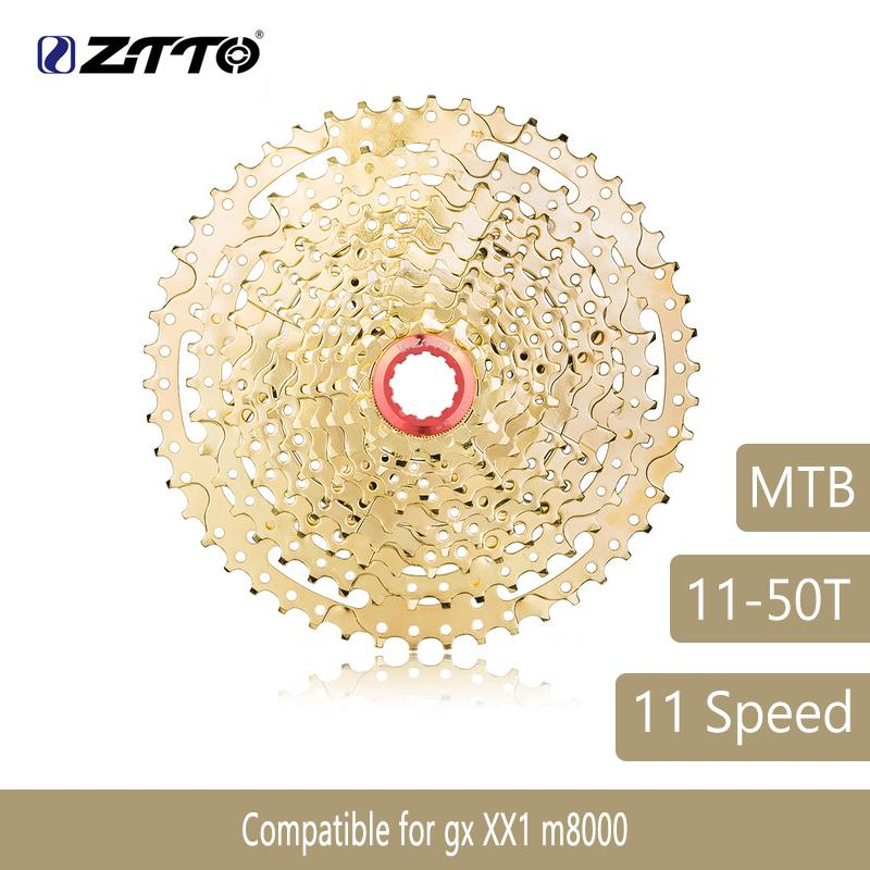 MTB Sprockets  Bike Spare Parts 11S 11-42T 33S Gold Cassette 11 Speed Flywheel
