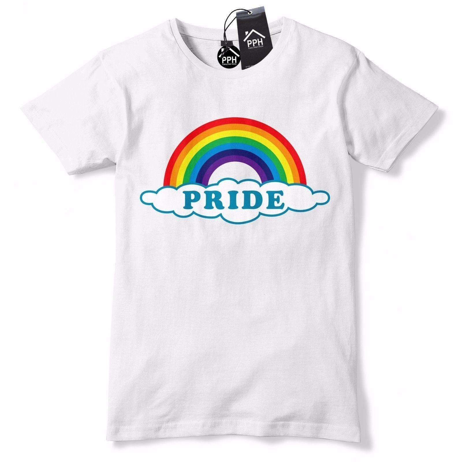 588d9d37c9 Gay Pride T Shirt Mens Rainbow Tshirt glitter Lesbian LGBT Festival Outfit  604 Funny free shipping Unisex Casual tee gift