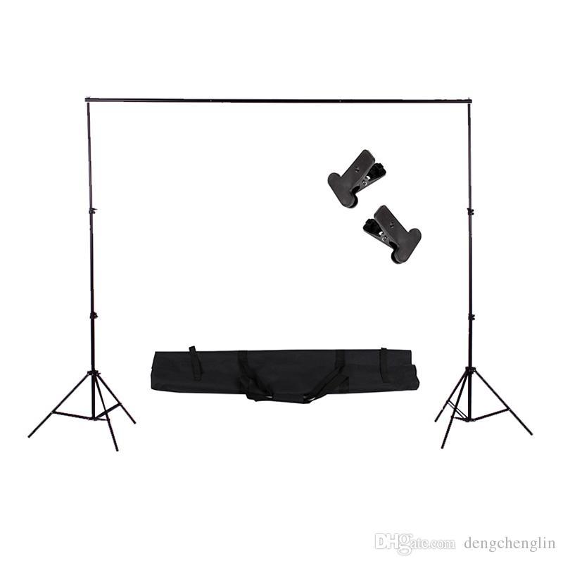 2 * 2 M Fotoğraf Stüdyosu Arka Plan Çerçevesi Katlanır Tripod Standı Arka Planında Video Stüdyosu Fotografik Aksesuarları Çantası