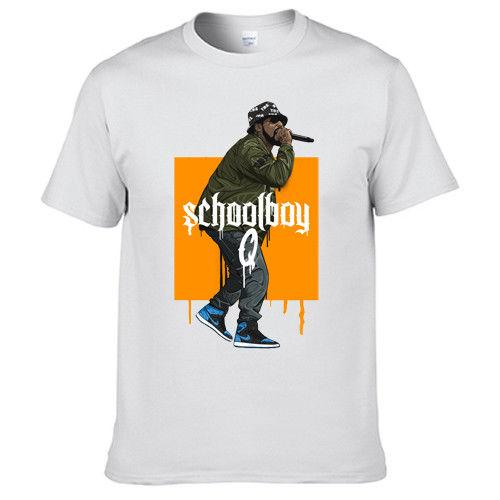 9cbbd019 Schoolboy Q Groovy Tony Quincy Music T Shirt Direct from Manufacturer  203045 short sleeve tshirt Tops High Quality Cotton Hip Hop