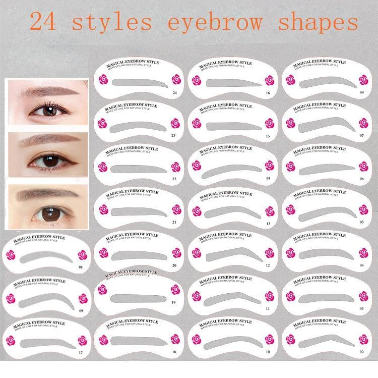 Amazing Eyebrow Templates Sketch - Example Resume and Template Ideas ...